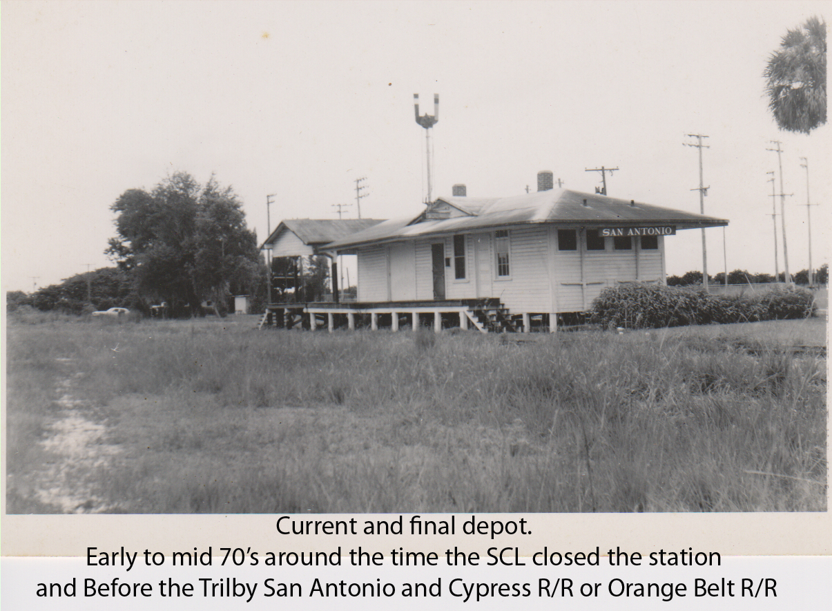 Current and Final Depot Early to Mid 70s