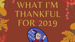 Things I'm Thankful For 2019