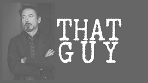 THAT GUY: Overly Macho Guy