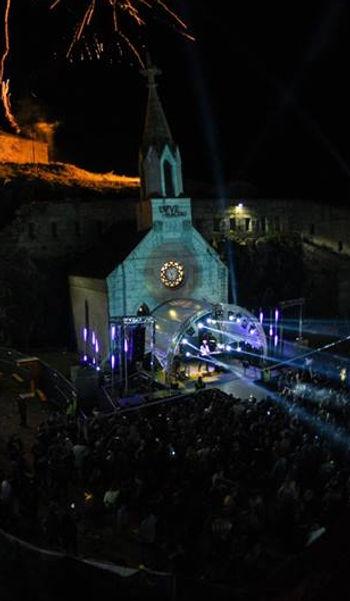 Beleuchtung, Festival, Südtirol, Bühne, Licht, Laser