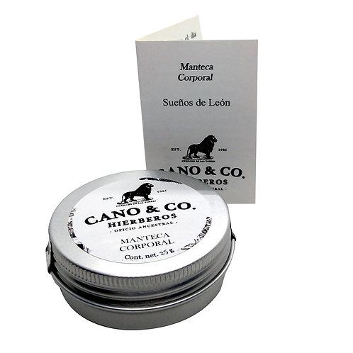 Manteca corporal Sueños de León Cano & Co