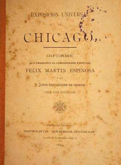 Chicago Mérida 1893