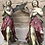 Thumbnail: Decorative Pair of Antique Angels in wood circa 1800