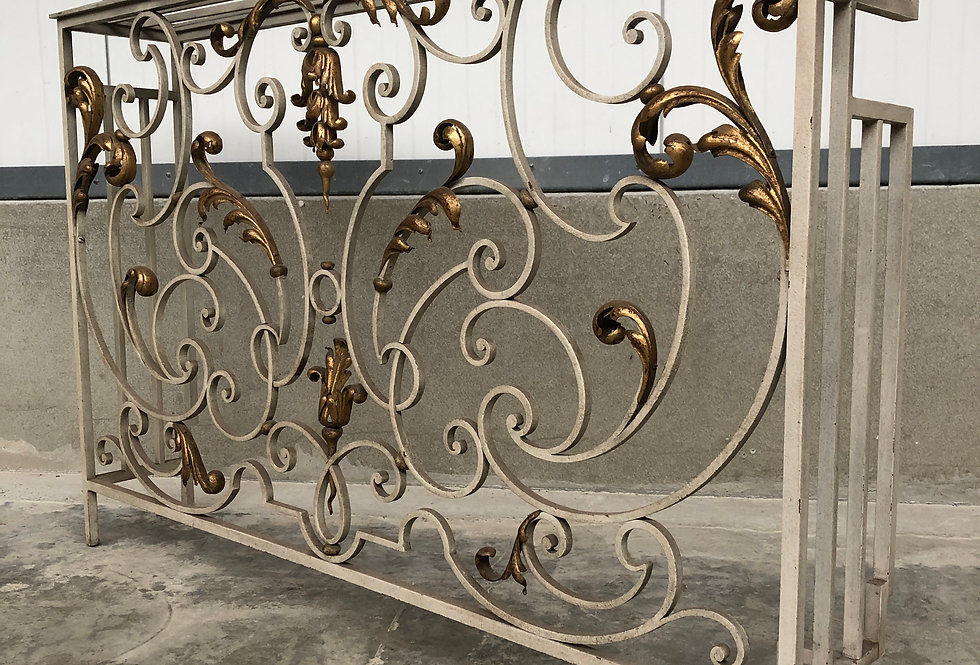 Cast iron heating Fence 1930