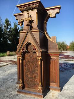 Gothic church altar piece