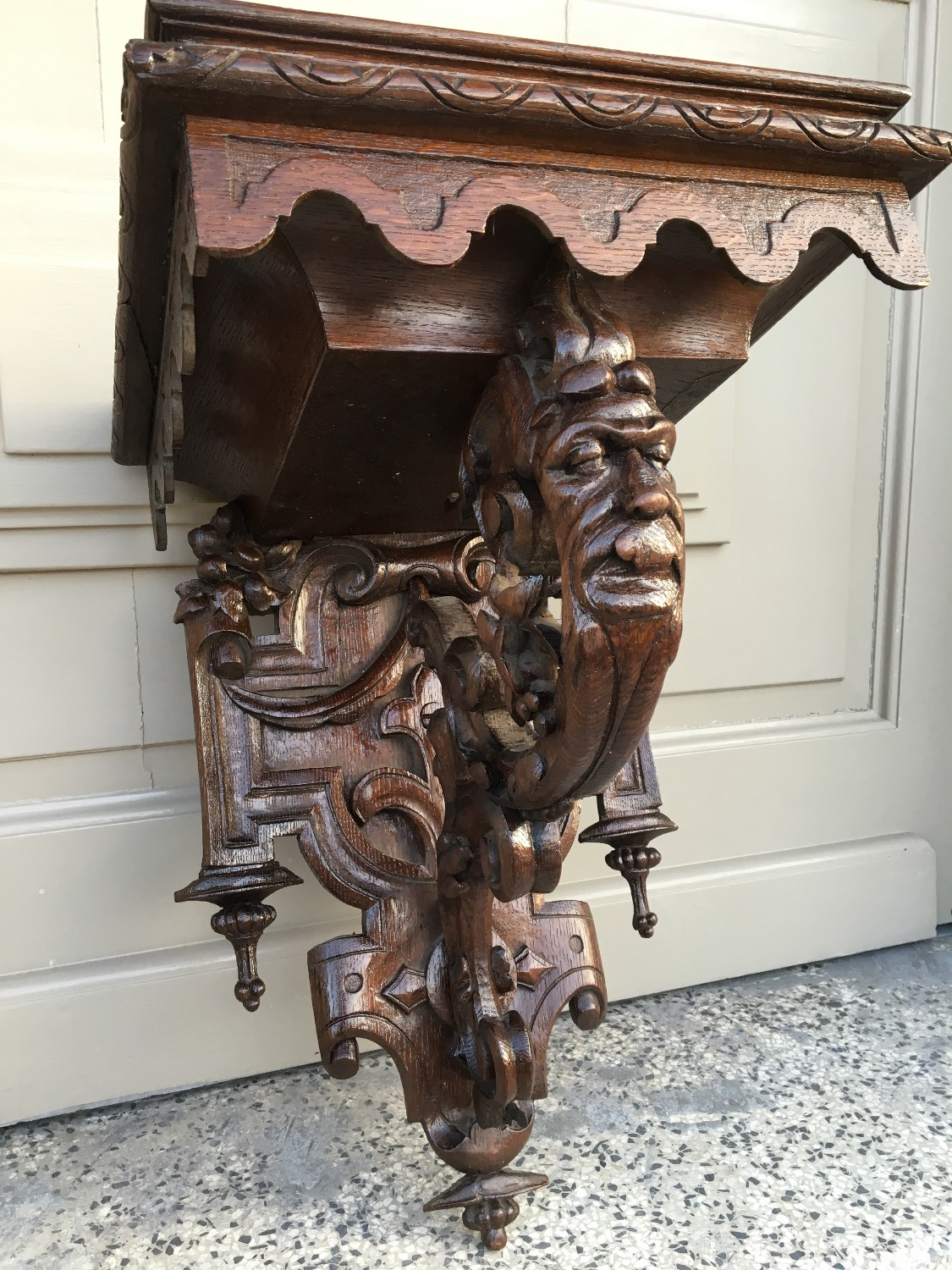 antique renaissance console