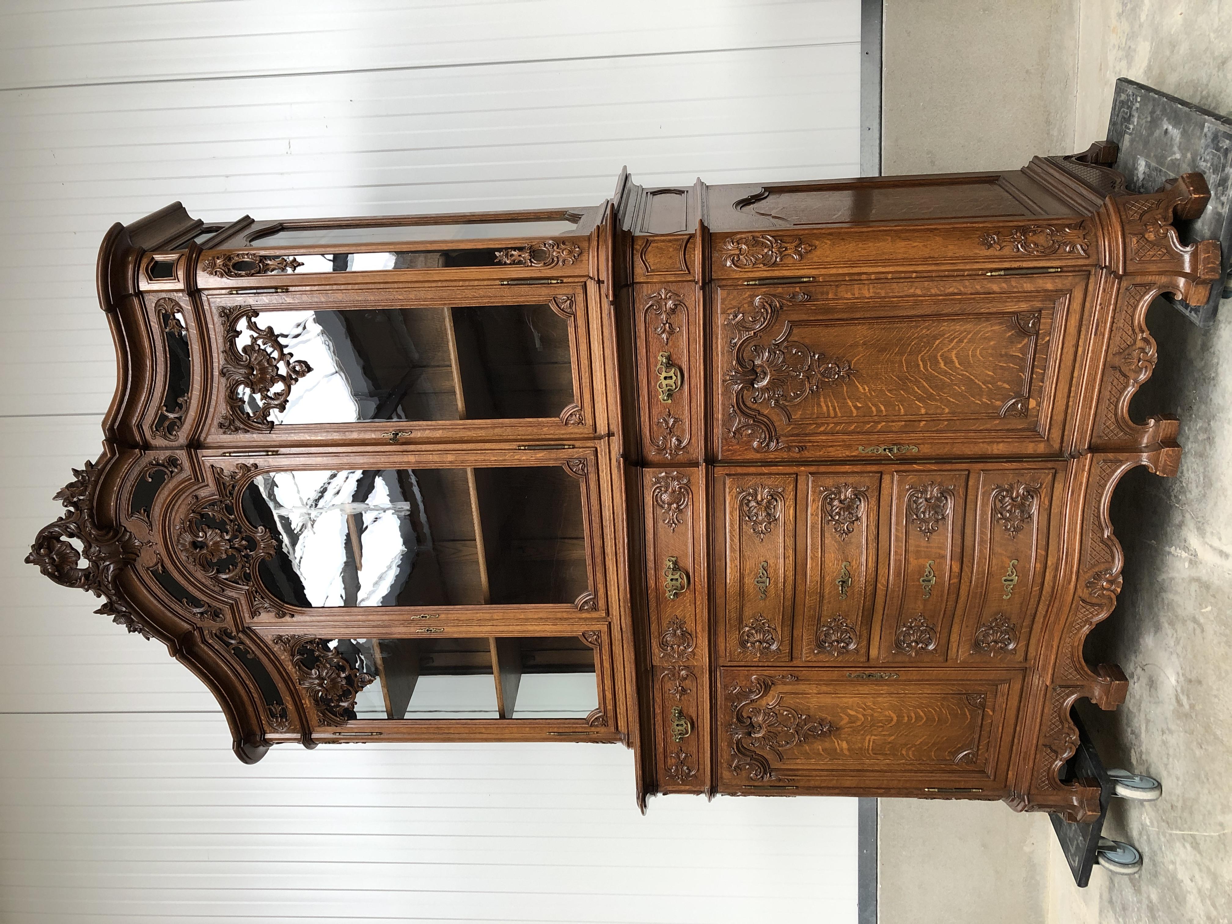 Liege Vitrine Cabinet