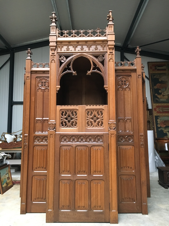 Gothic Church Confessional