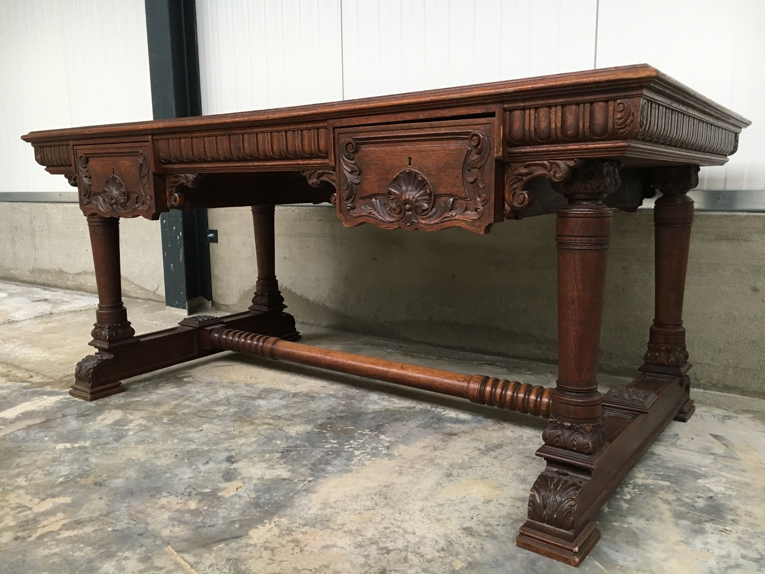 antique Louis xv desk