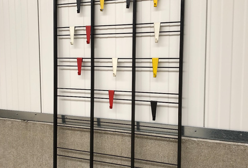 Coen De Vries Tone Ladder Wall Rack circa 1950