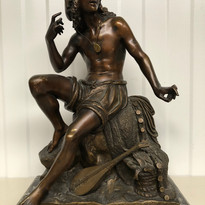 Bronze Oriental Sculpture