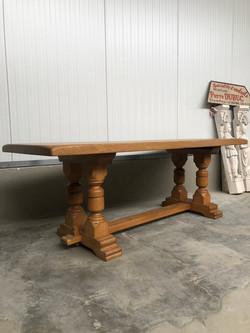 Massive Oak Table