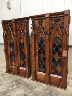 antique Gothic doors