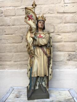 Saint Louis IX Statue