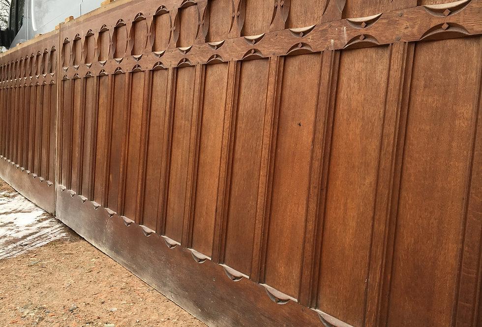Neo Gothic Paneling