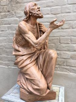 Terracotta Statue Saint Jerome