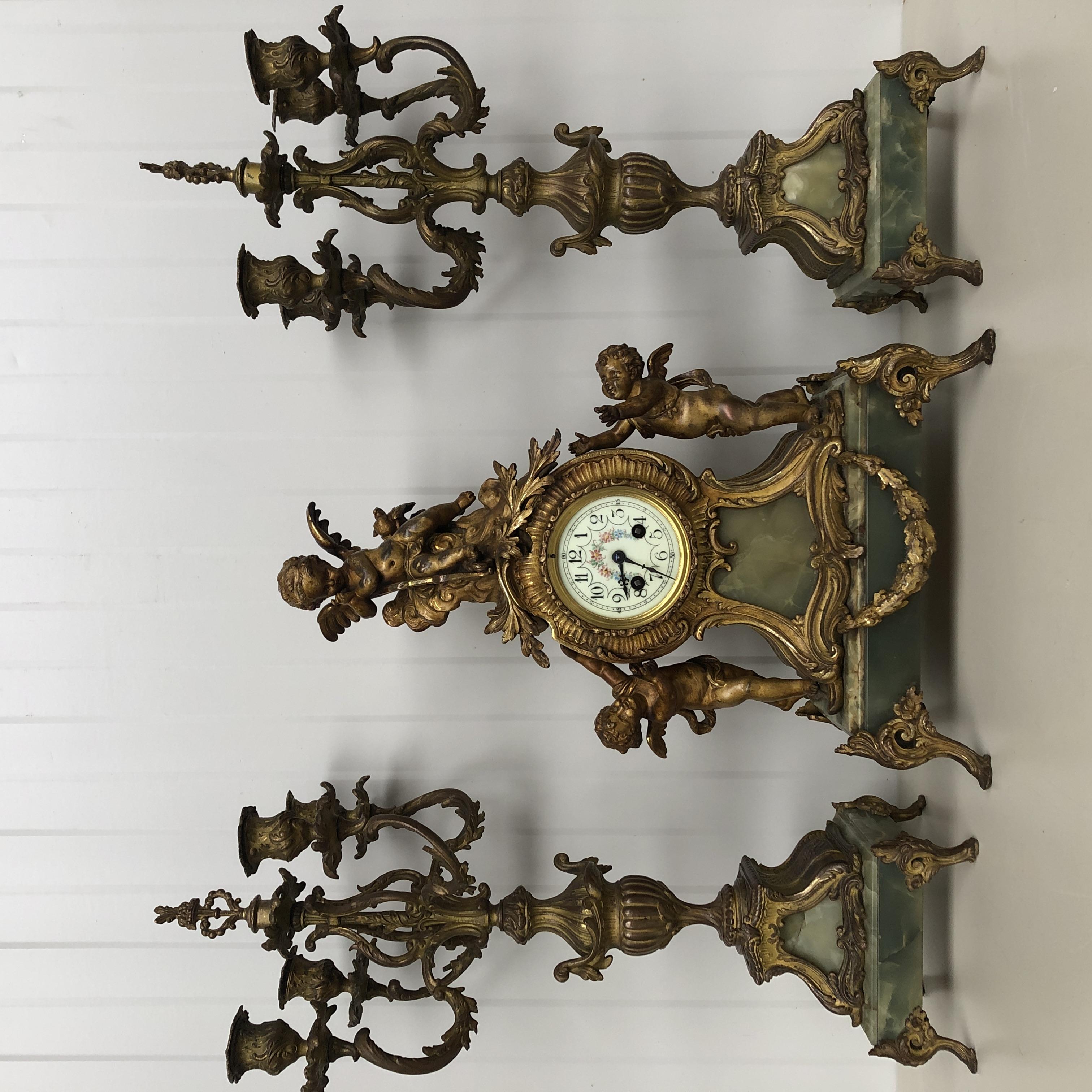Marti & cie clock