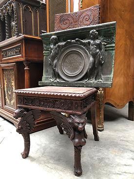 Aankoop van antiek en kunst