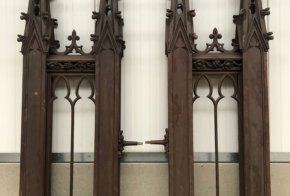 Neo Gothic Architectural Church Pieces