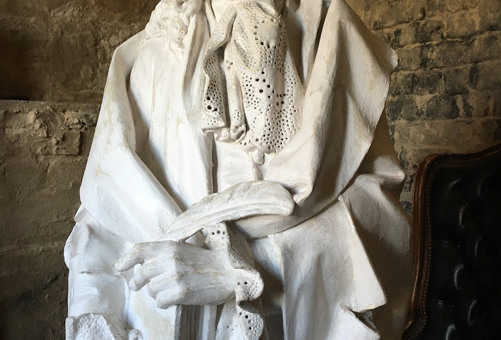 Big Size Sculpture in plaster circa 1880 - 140 cm high
