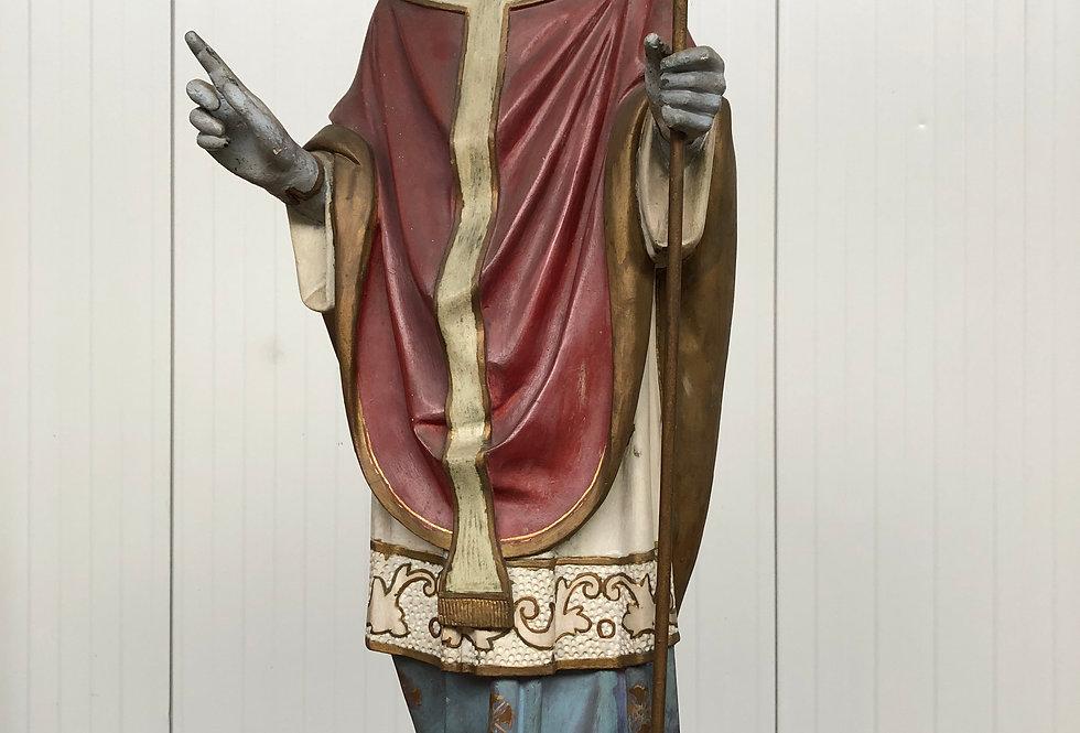 Church Statue in plaster 106 cm high