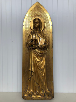 Saint Clare of Assisi in Bronze