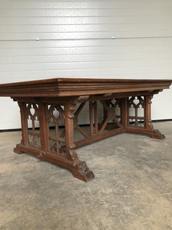antique gothic table