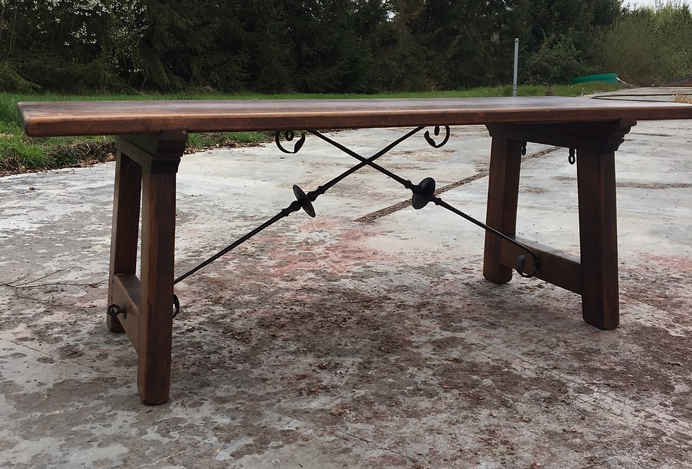 Solid Wood Spanish Table
