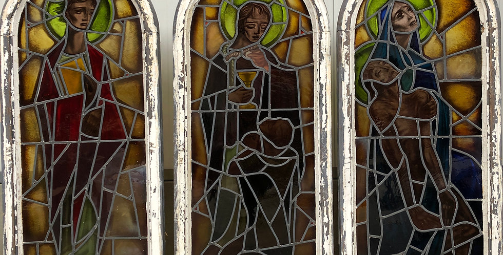 Religious Stained Glass Windows by Ri Coëme