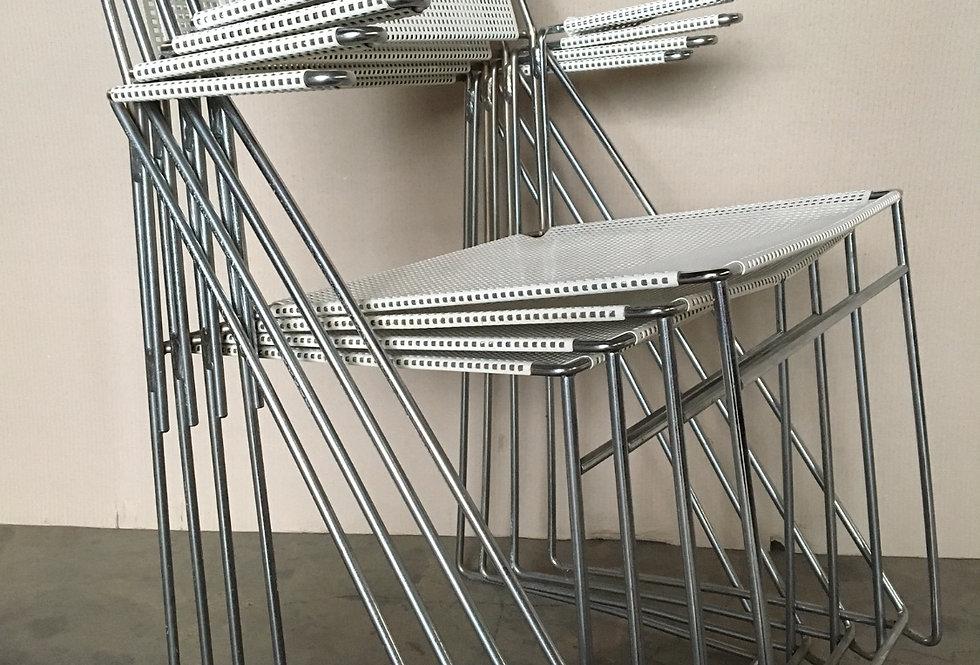 4 Niels Jorgen Haugesen X line Armchairs