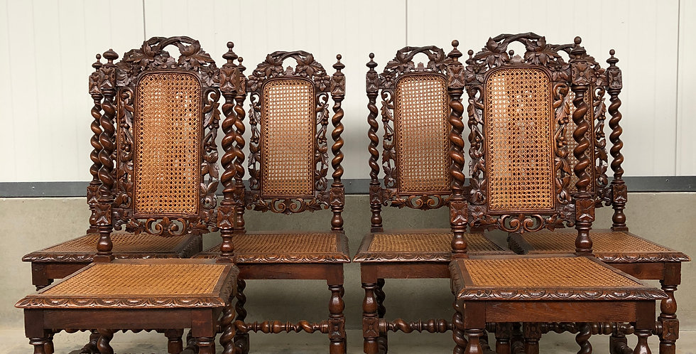 Set of 6 hunting Chairs