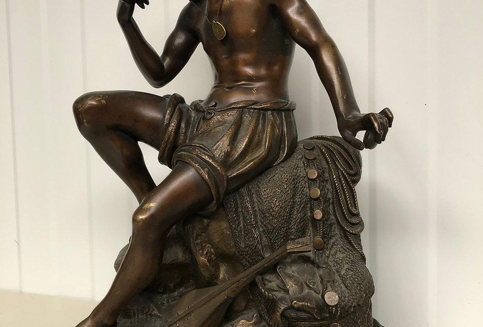 Bronze Oriental Statue