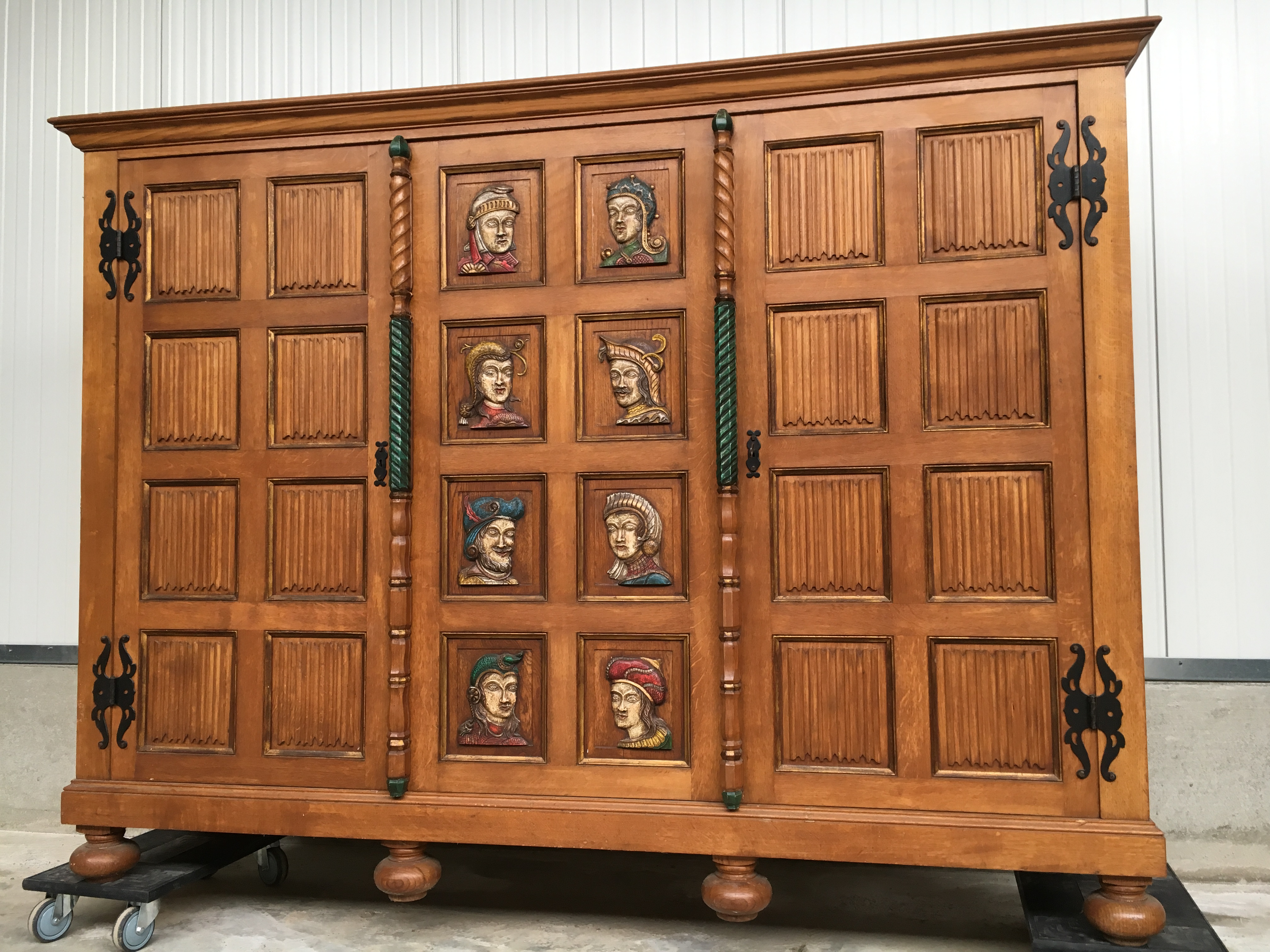 medieval style cabinet
