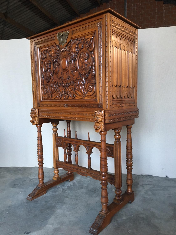 spanish bar cabinet