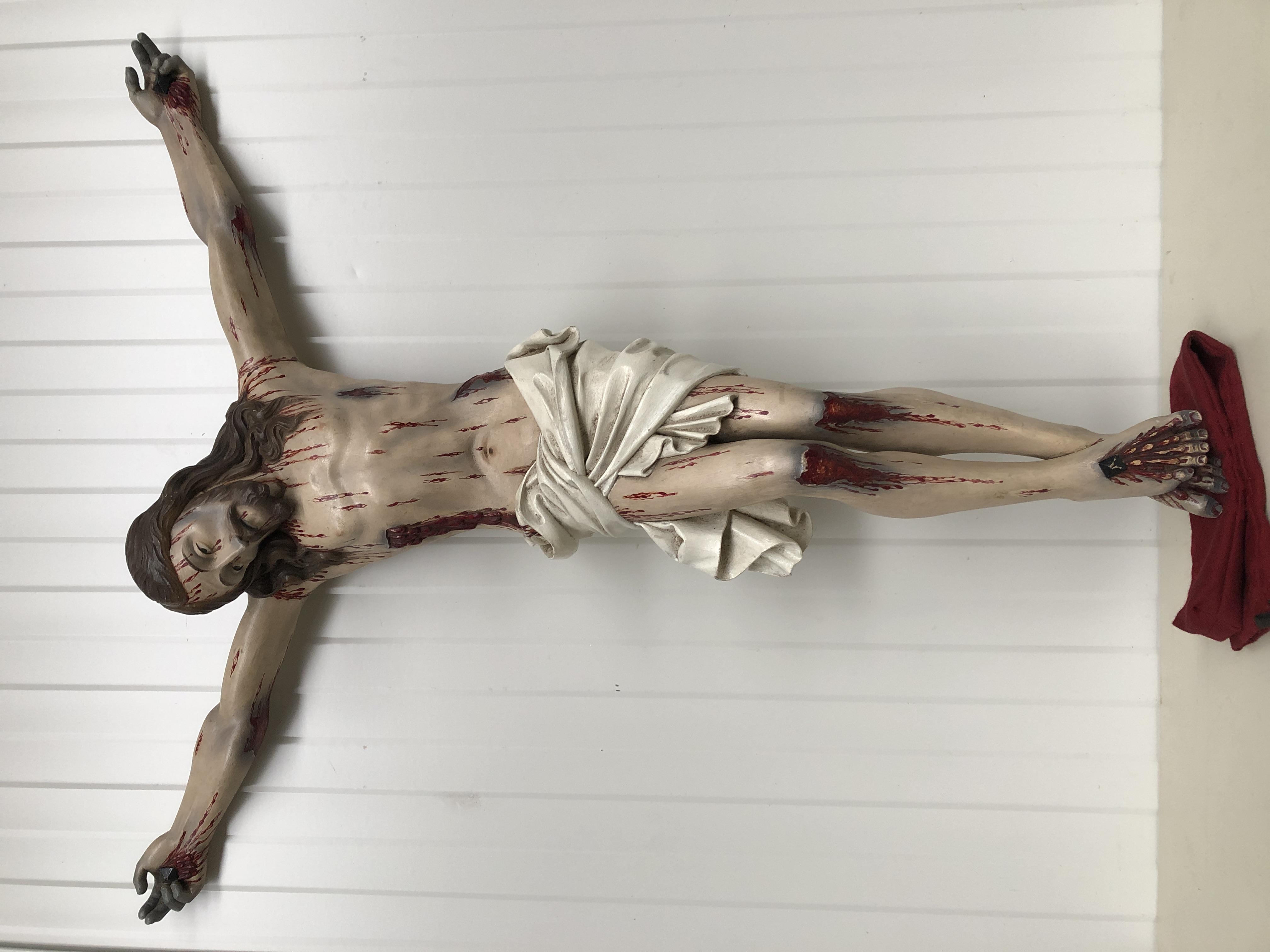 Corpus Christi in wood