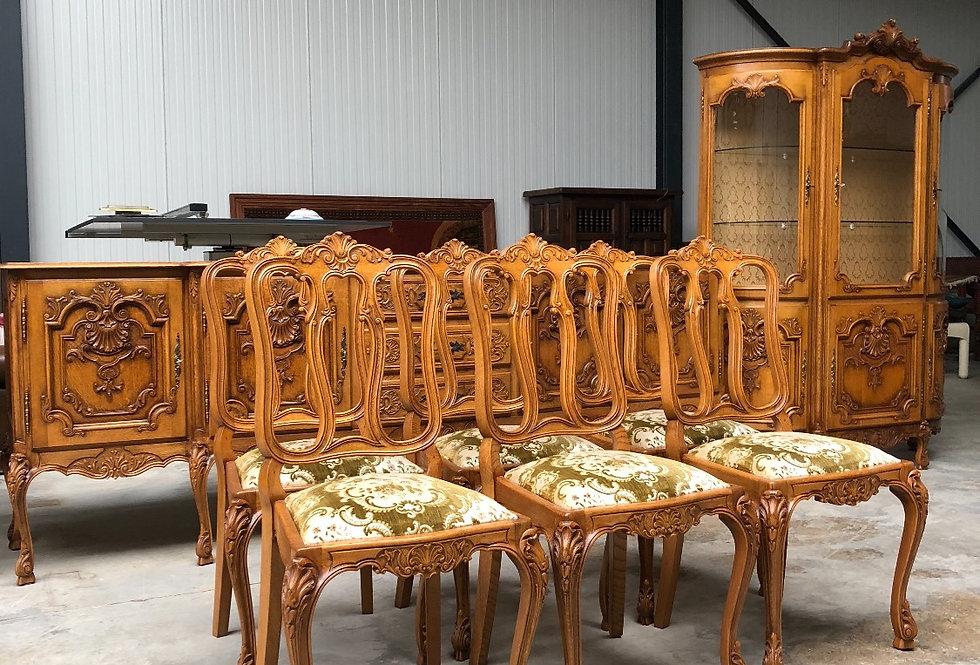 9 Pc Louis xv dining room Set