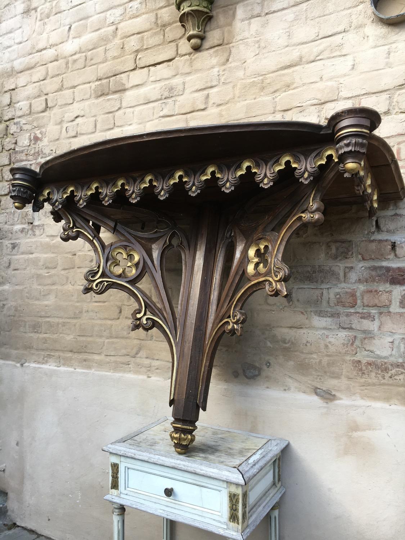 Gothic Church Console