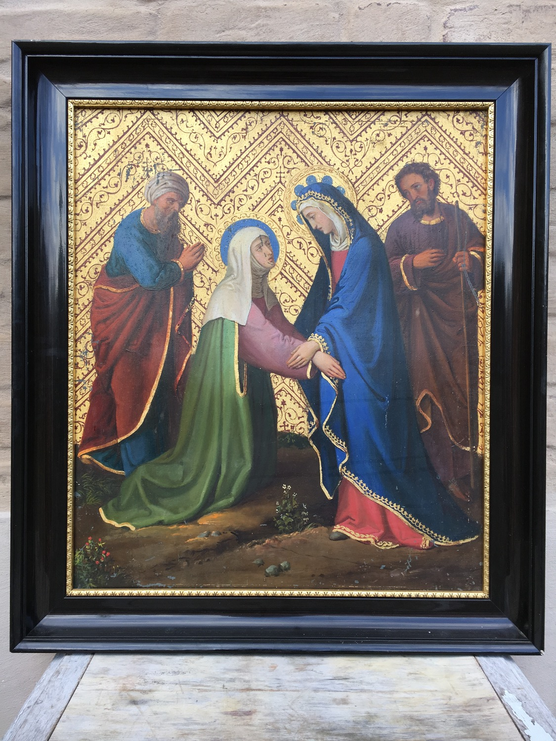 the visitation of saint mary and saint Anna