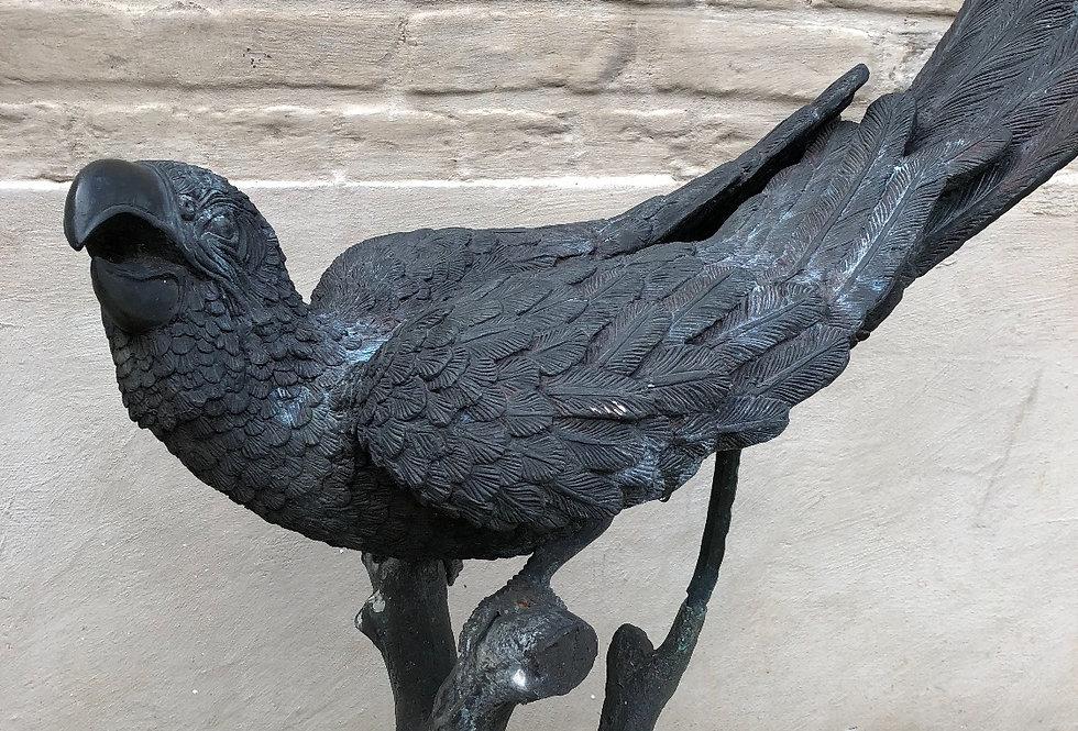 Vintage Iron/ Metal Parrot