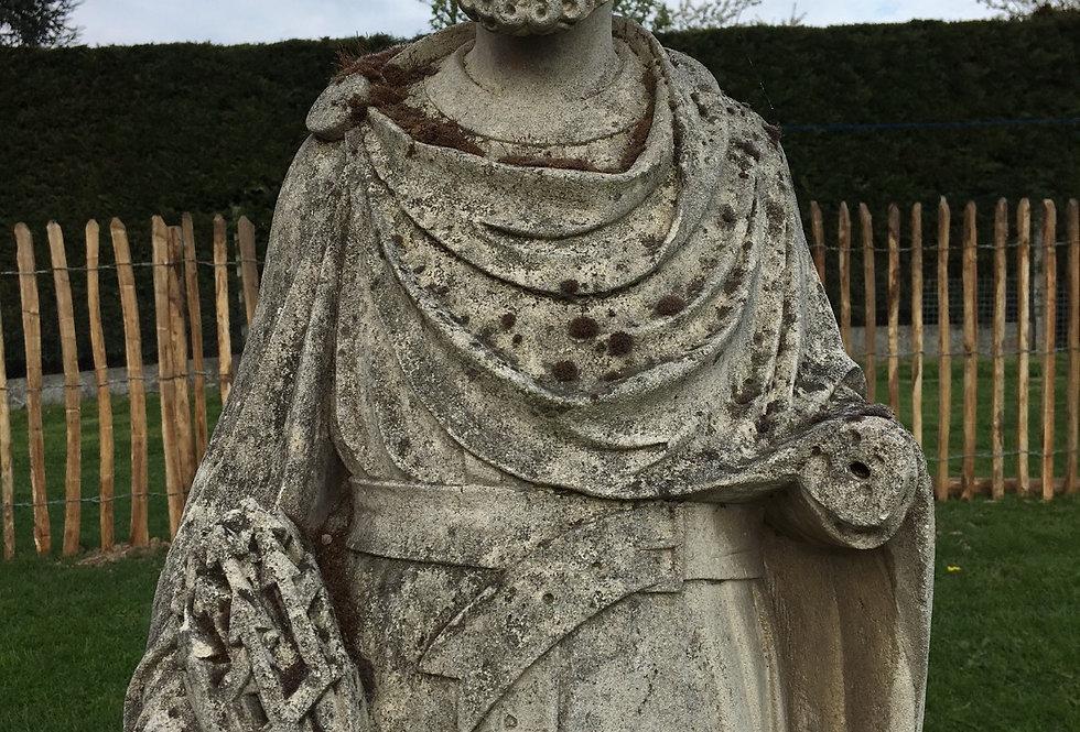 Saint Donatus Statue in stone circa 1880 - 117 cm high