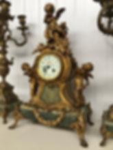 louis xv putti clock