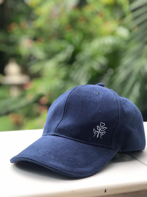 BAHT BY BAHT for OPERATION SMILE: NAVY BLUE BASEBALL CAP, ADJUSTABLE (Series 1)