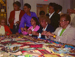 Quilters Around the Table
