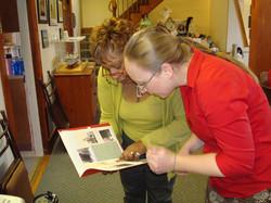 Documentation at Salem Avery Museum