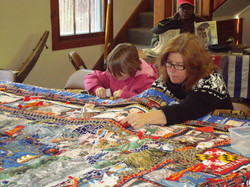 Mother-Daughter Quilting