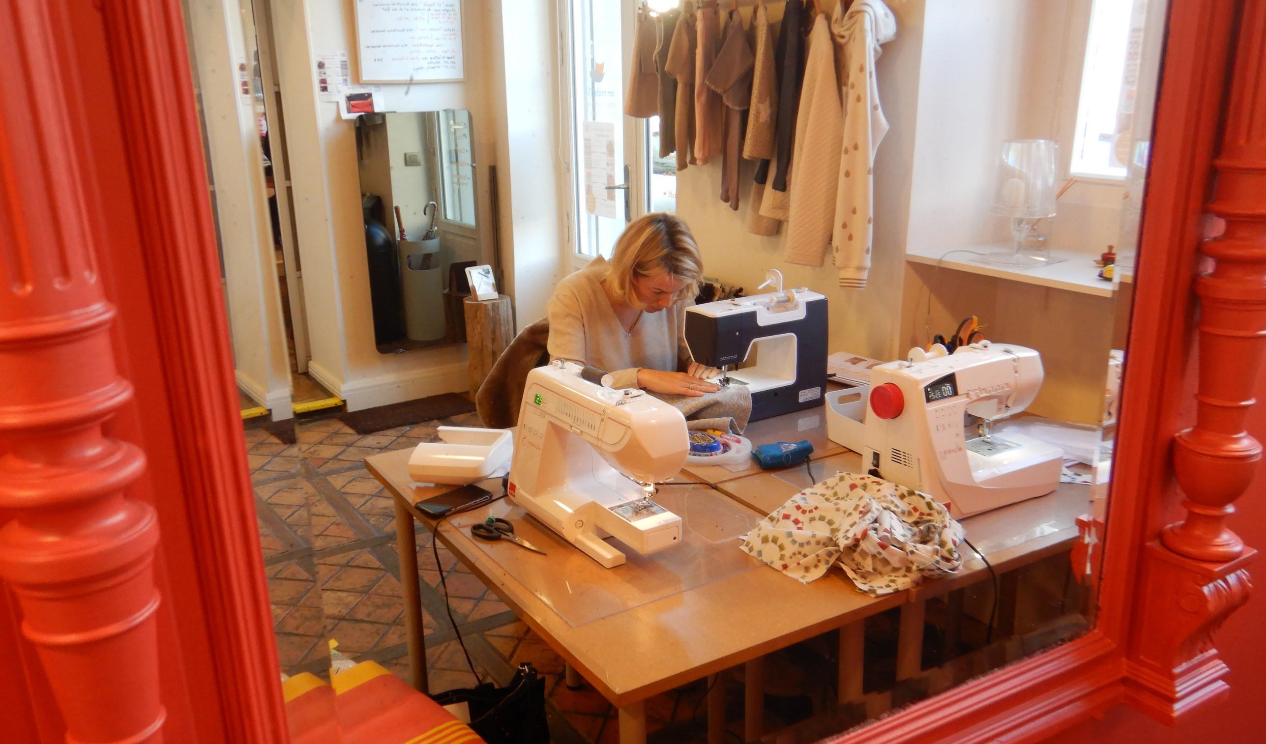 Cours collectifs de couture Adultes