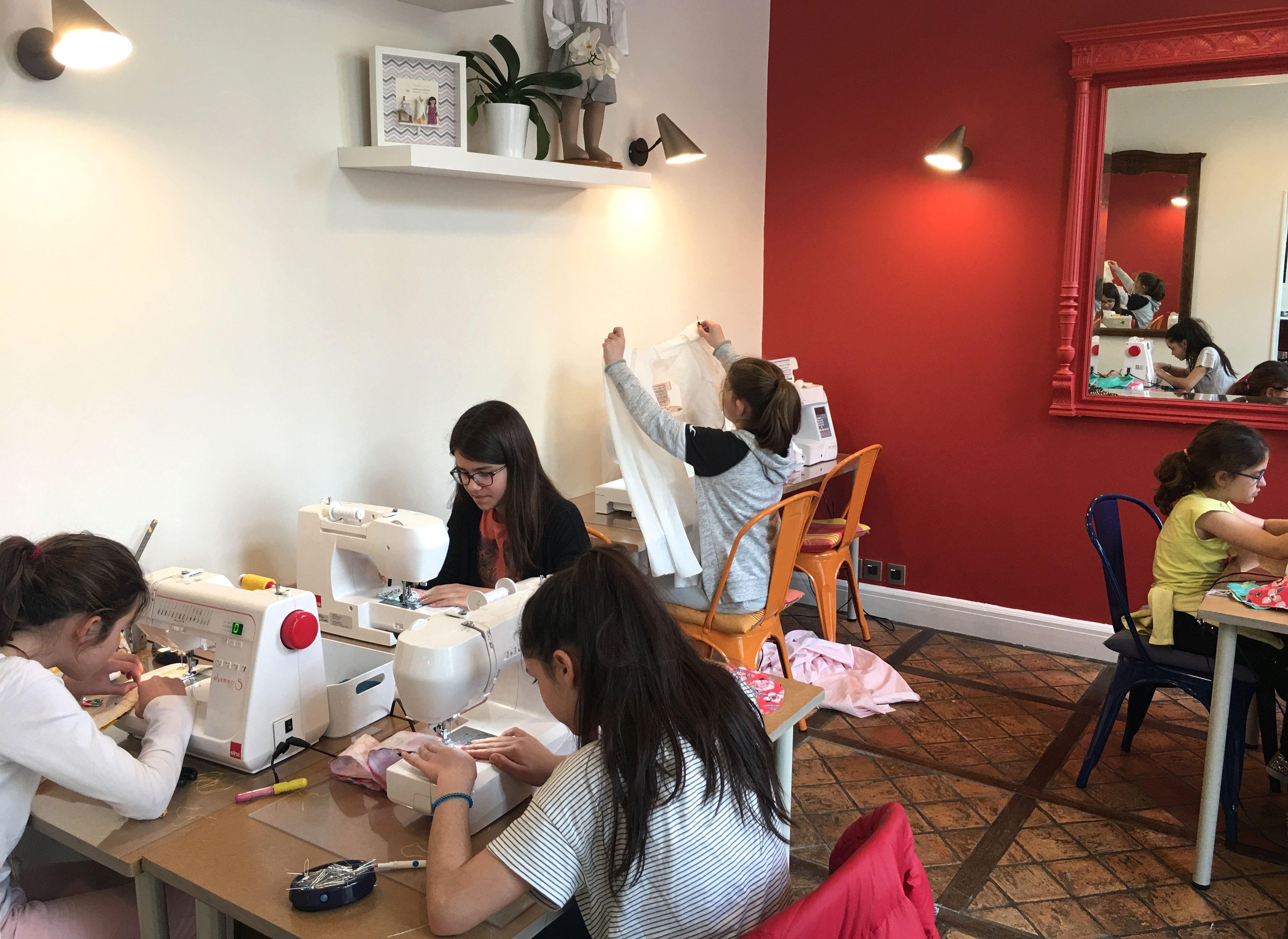 Cours collectifs de couture enfants