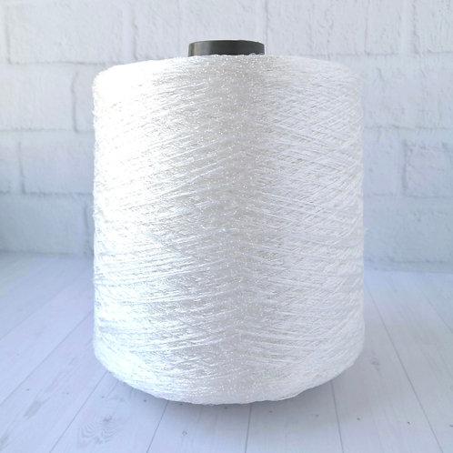 Paillettes белая (3.1 руб/грамм) пайетки на вискозе
