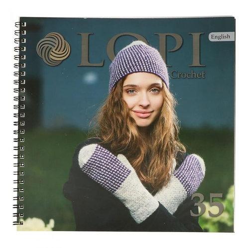 Книга LOPI 35 - модели крючком