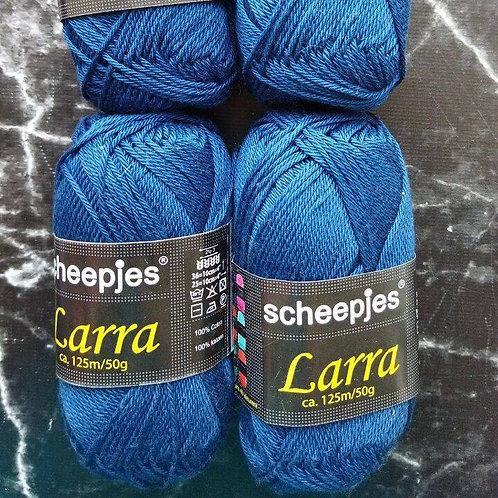 Набор голландской пряжи Scheepjes Larra Cotton - 4 мотка